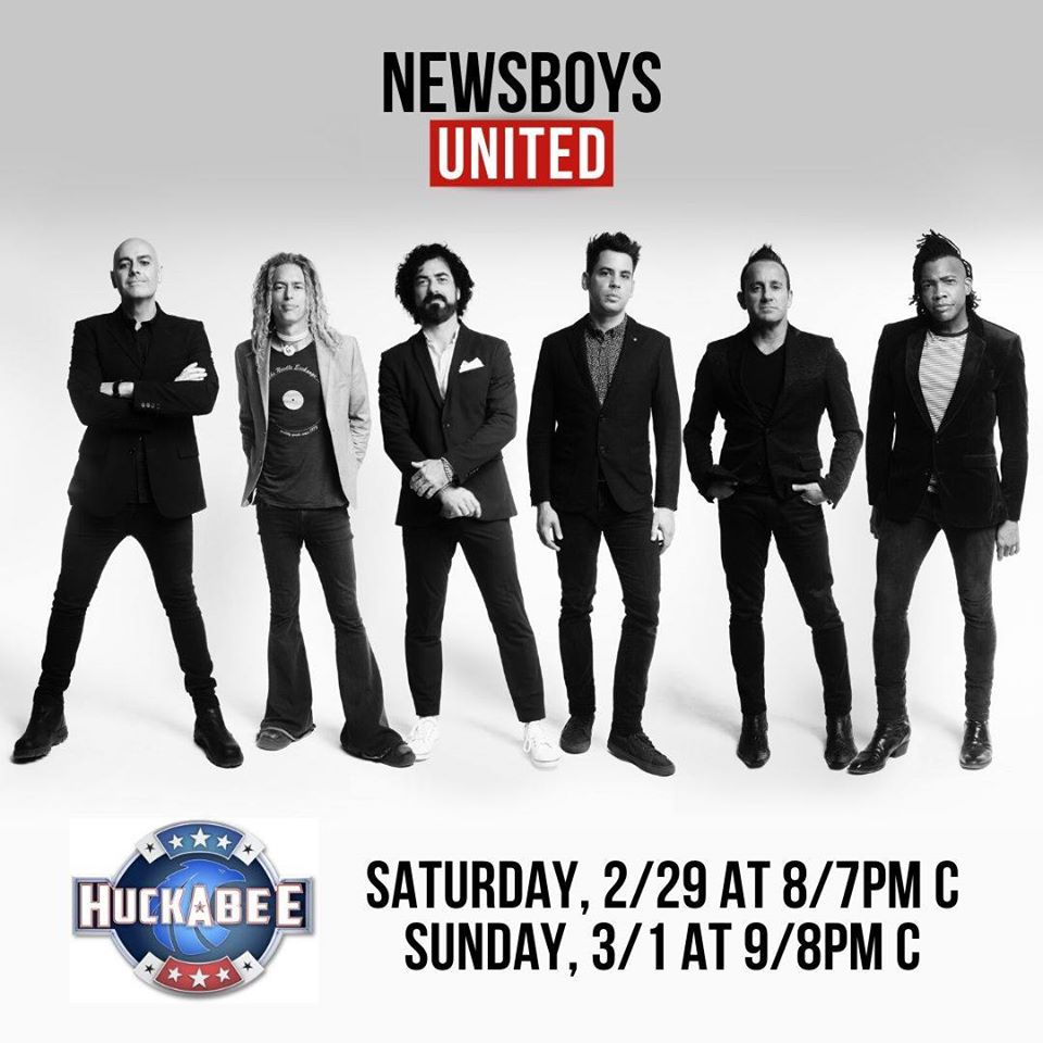 Watch Newsboys United Perform Love One Another on the Huckabee Show