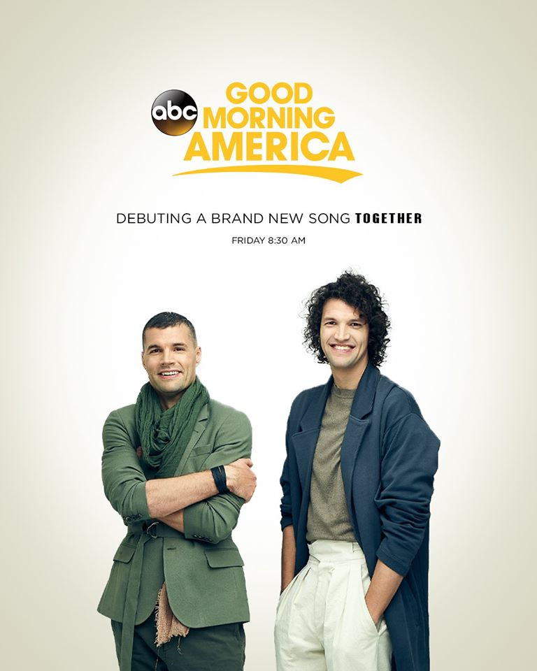 for KING & COUNTRY to make GMA Debut with New Song This Friday