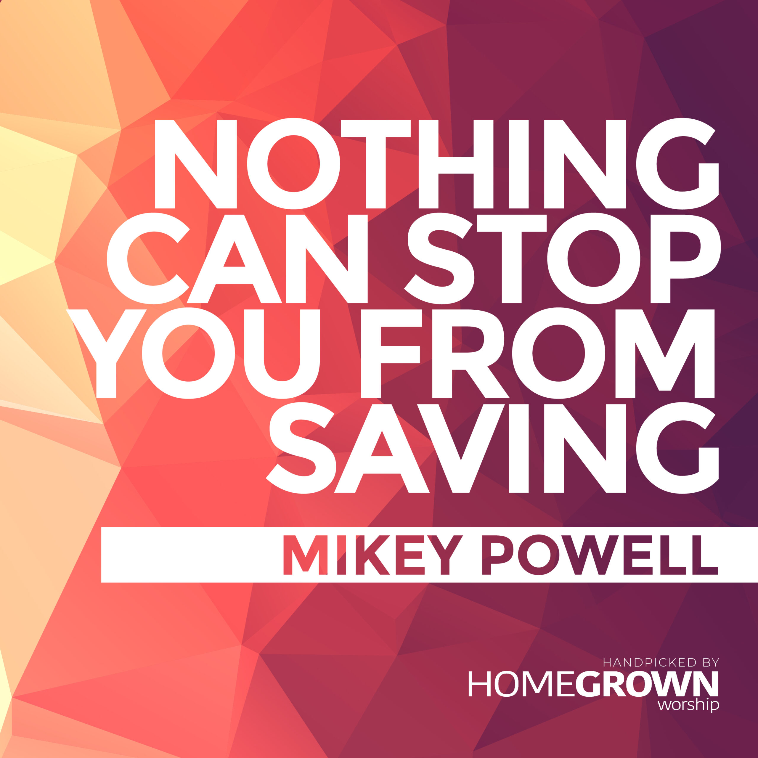 Mikey Powell Releases New Single Nothing Can Stop You From Saving