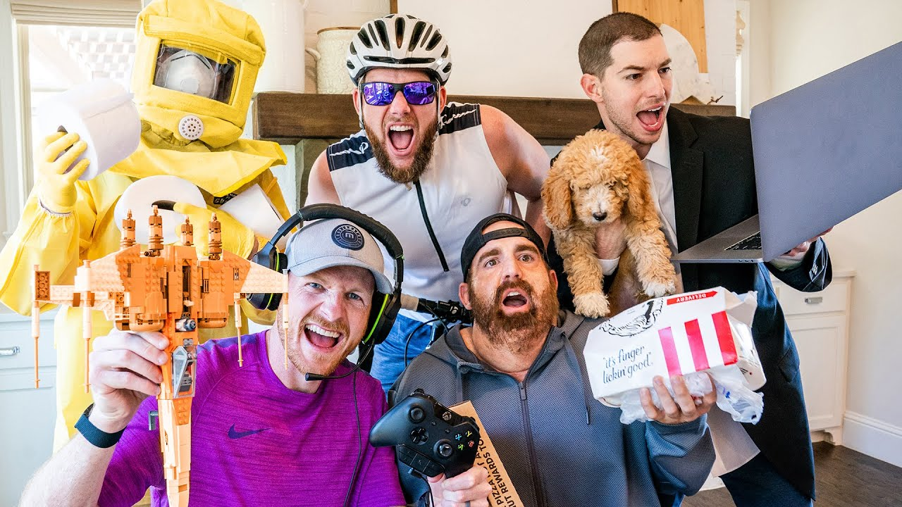 Dude Perfect Highlight Quarantine Stereotypes