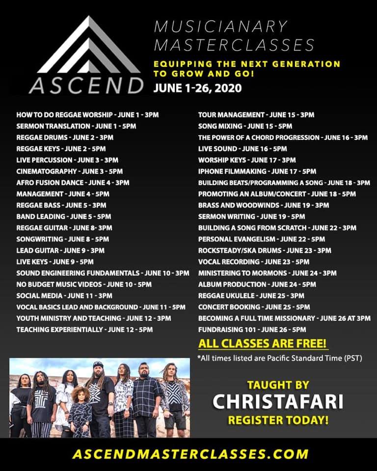 Christafari Launches Free Ascend Masterclasses