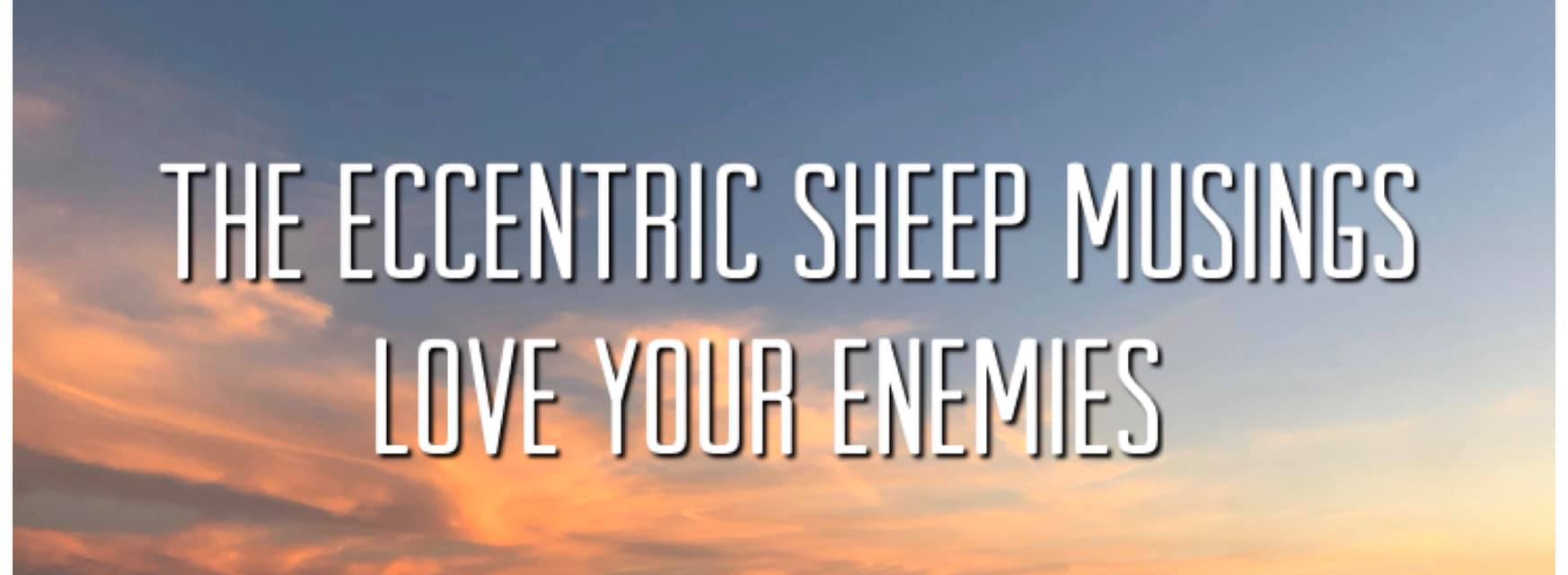 The Eccentric Sheep Musings: Love Your Enemies