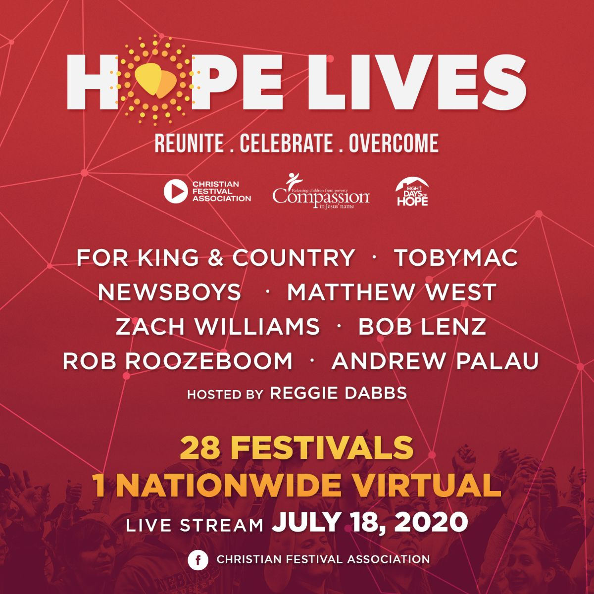 The Christian Festival Association Announces the Launch of its First Ever Nationwide Virtual Festival