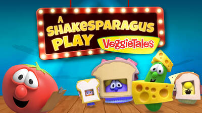 """YIPPEE TV Launches New VEGGIETALES Episode: """"A ShakeSparagus Play - A Lesson in Humility"""""""