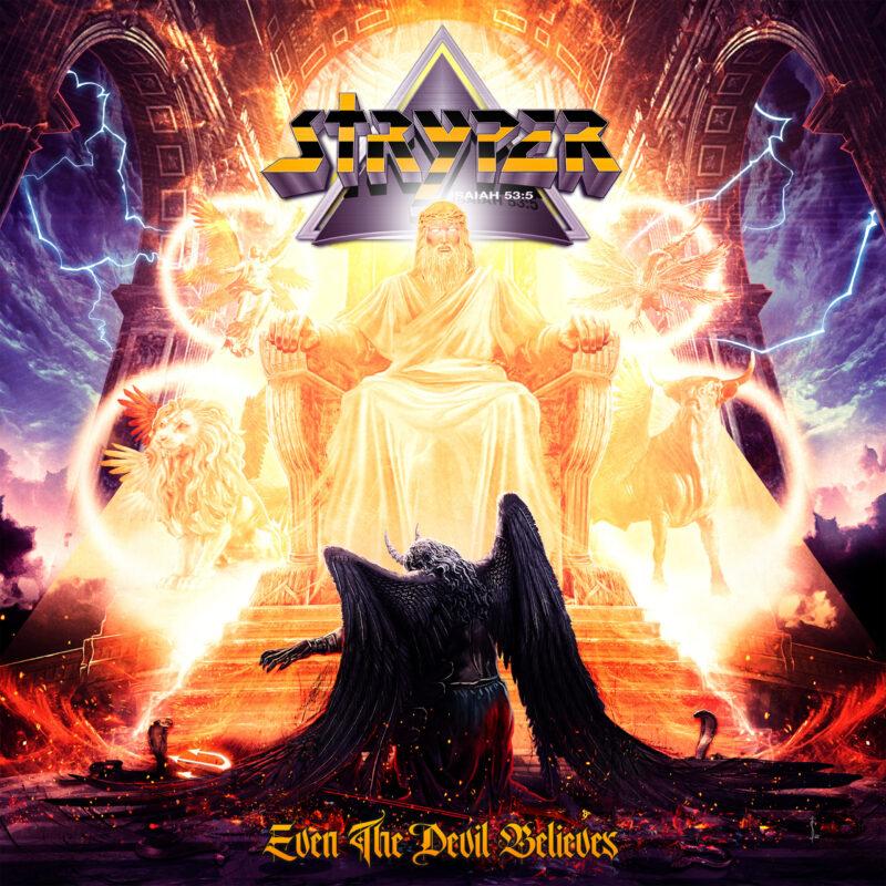 Iconic Rock Band Stryper Releases New Studio Album, Even The Devil Believes