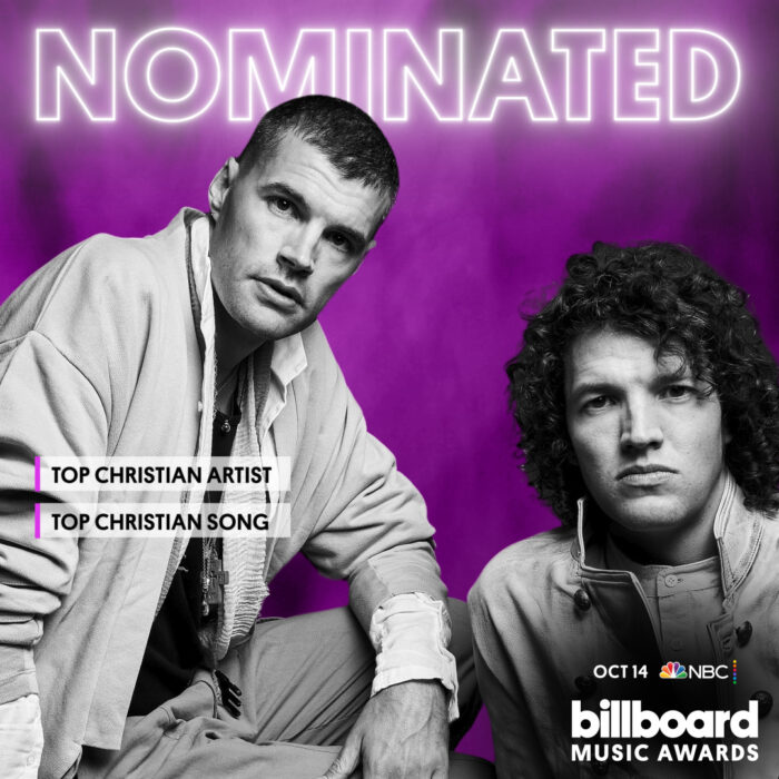 for KING & COUNTRY Nominated for Two Billboard Awards