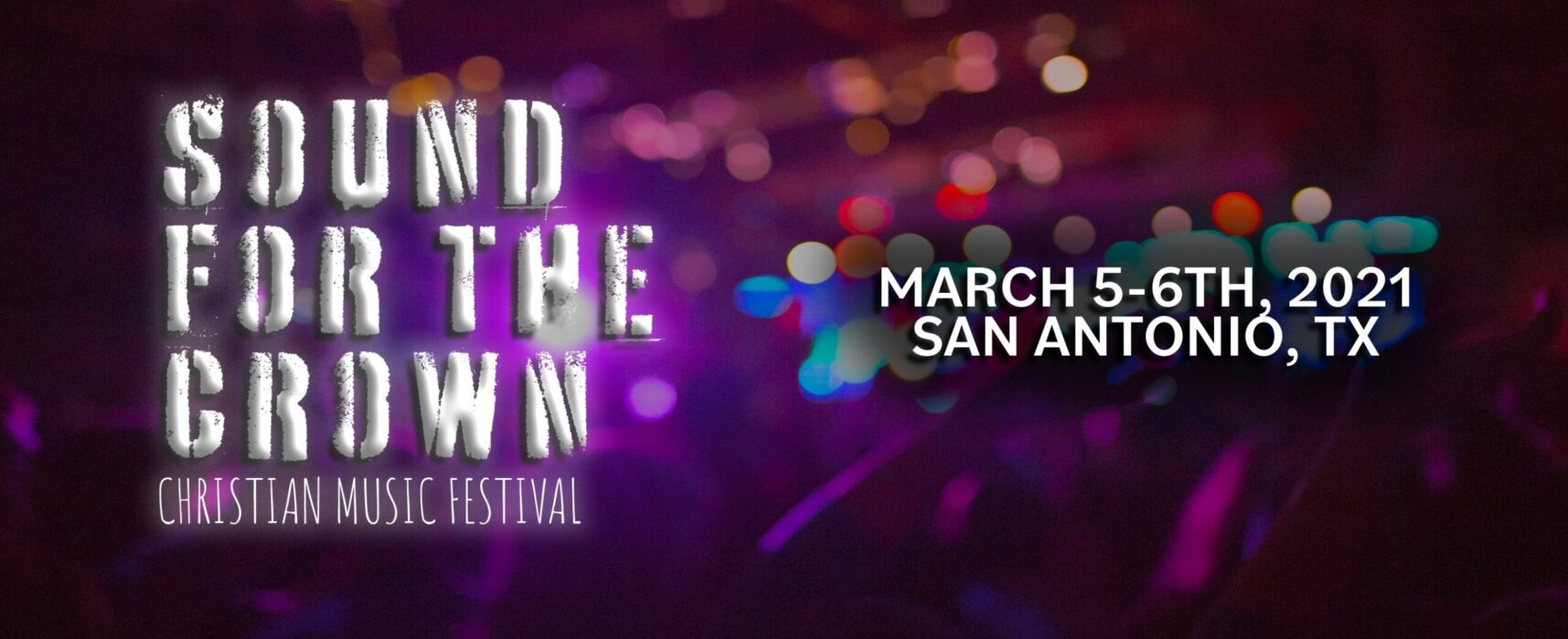 Sound For The Crown Festival 2021 is Accepting Band Submissions