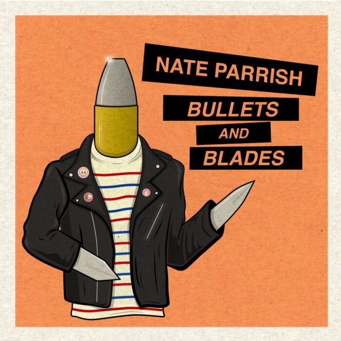 """Nate Parrish joins Indie Vision Music to release new single """"Bullets and Blades"""" 10.23.20 - Nate Parrish Releases Bullets and Blades on Indie Vision Music"""