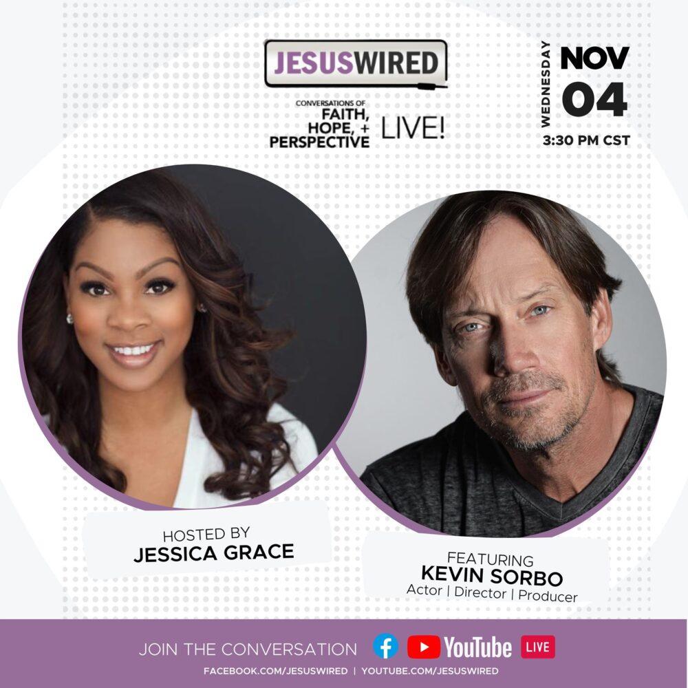 JesusWired Live: Kevin Sorbo