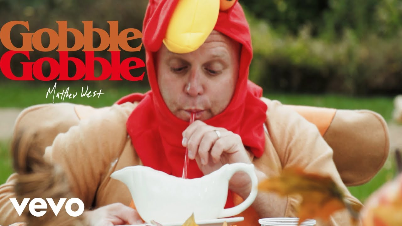 """Matthew West Serves Up a Thanksgiving Song of the Year - """"Gobble, Gobble"""""""