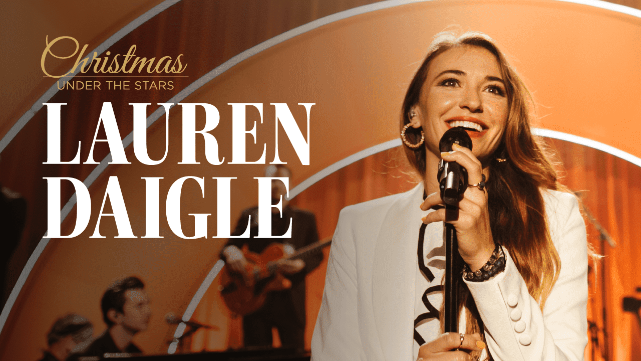 Watch Lauren Daigle's Christmas Special Tonight on BYU tv