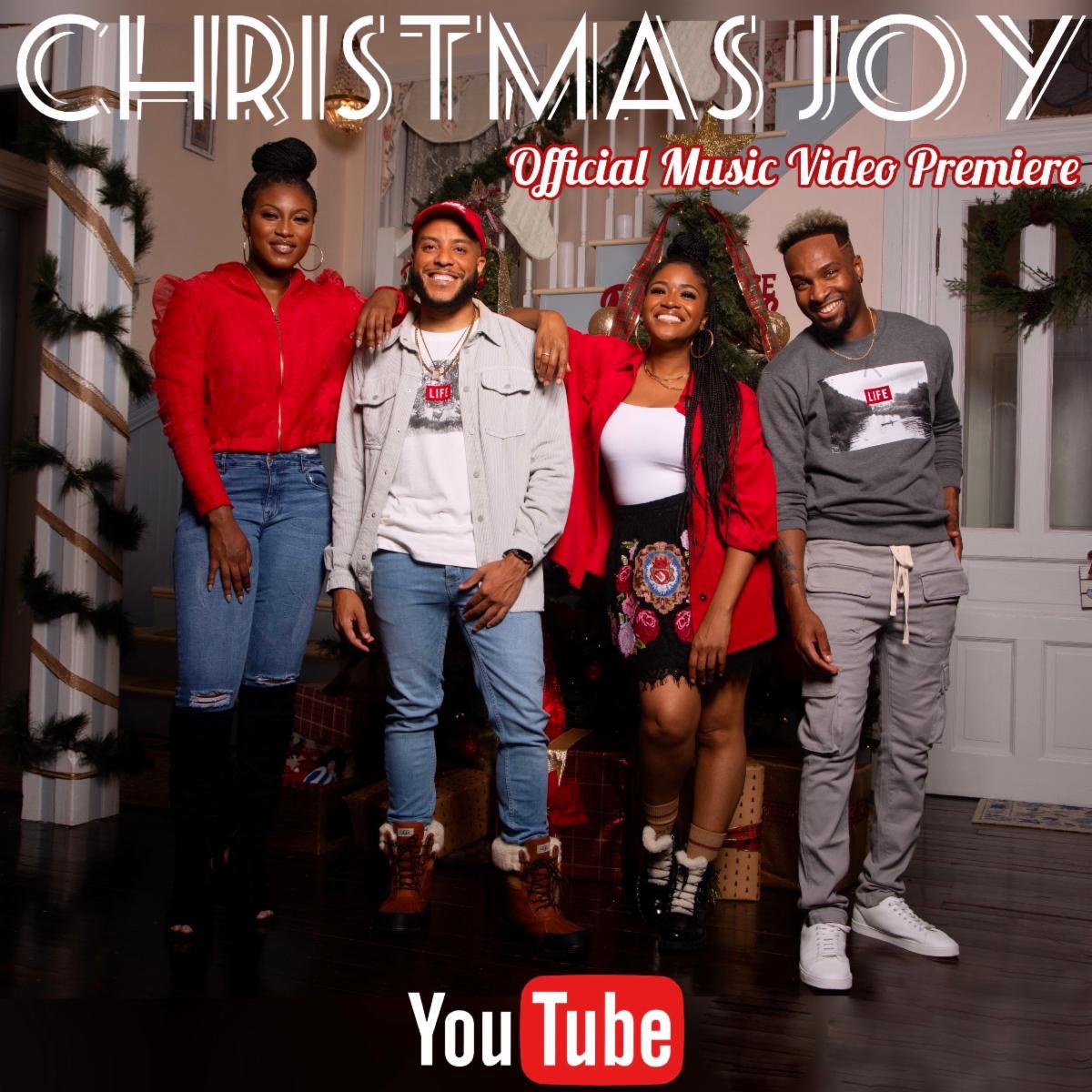 "Brandon Camphor & One Way Bring ""Christmas Joy"" to the Holiday Season"