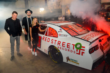 Jay DeMarcus Announces Red Street Records Sponsorship of NASCAR Driver Natalie Decker