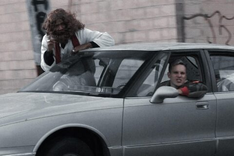 Jesus is Riding Shotgun in Trampolines' Rambunctious New Single