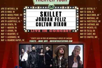 Skillet Announce Spring 2021 Drive-In Theater Tour