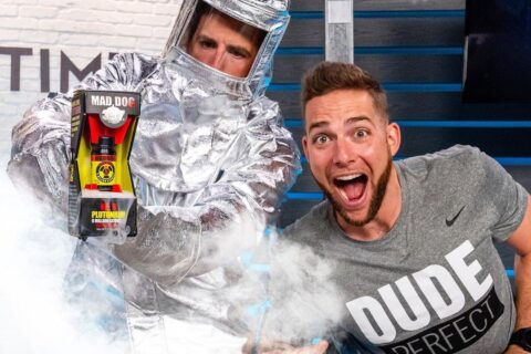Dude Perfect Reveal Cool Thingies