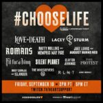 Love & Death and Lacey Sturm to headline groundbreaking suicide prevention livestream on Twitch