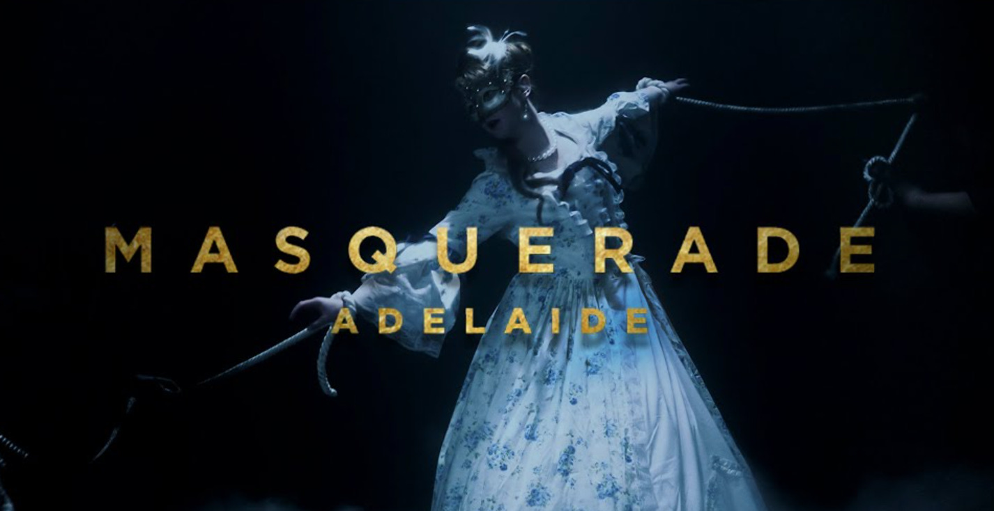 """Adelaide collaborates with Bayless for breathtakingly cinematic new music video """"Masquerade"""""""