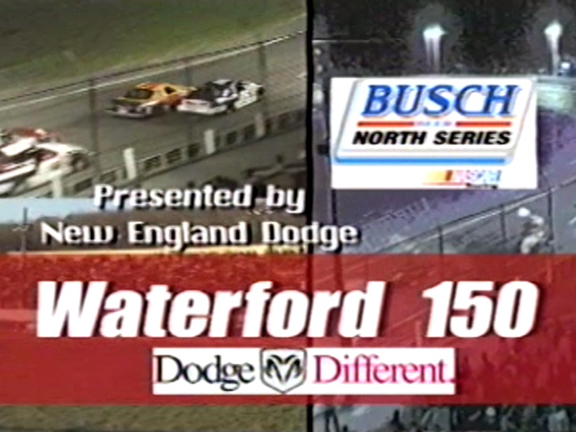 Speedbowl TV Ad – 2001 Busch North Series