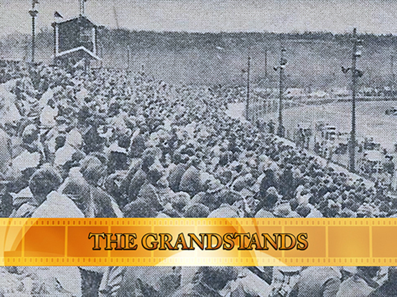 Speedbowl Doc Shorts – Late 1960's Grandstands