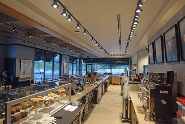Interior Food Service Construction