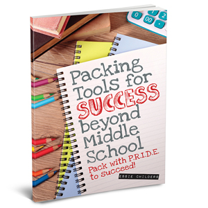 Packing Tools for Success Beyond Middle School