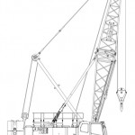 Linkbelt 218  110 Ton