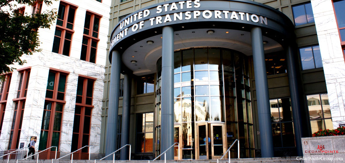 The Department of Transportation (DOT) dot