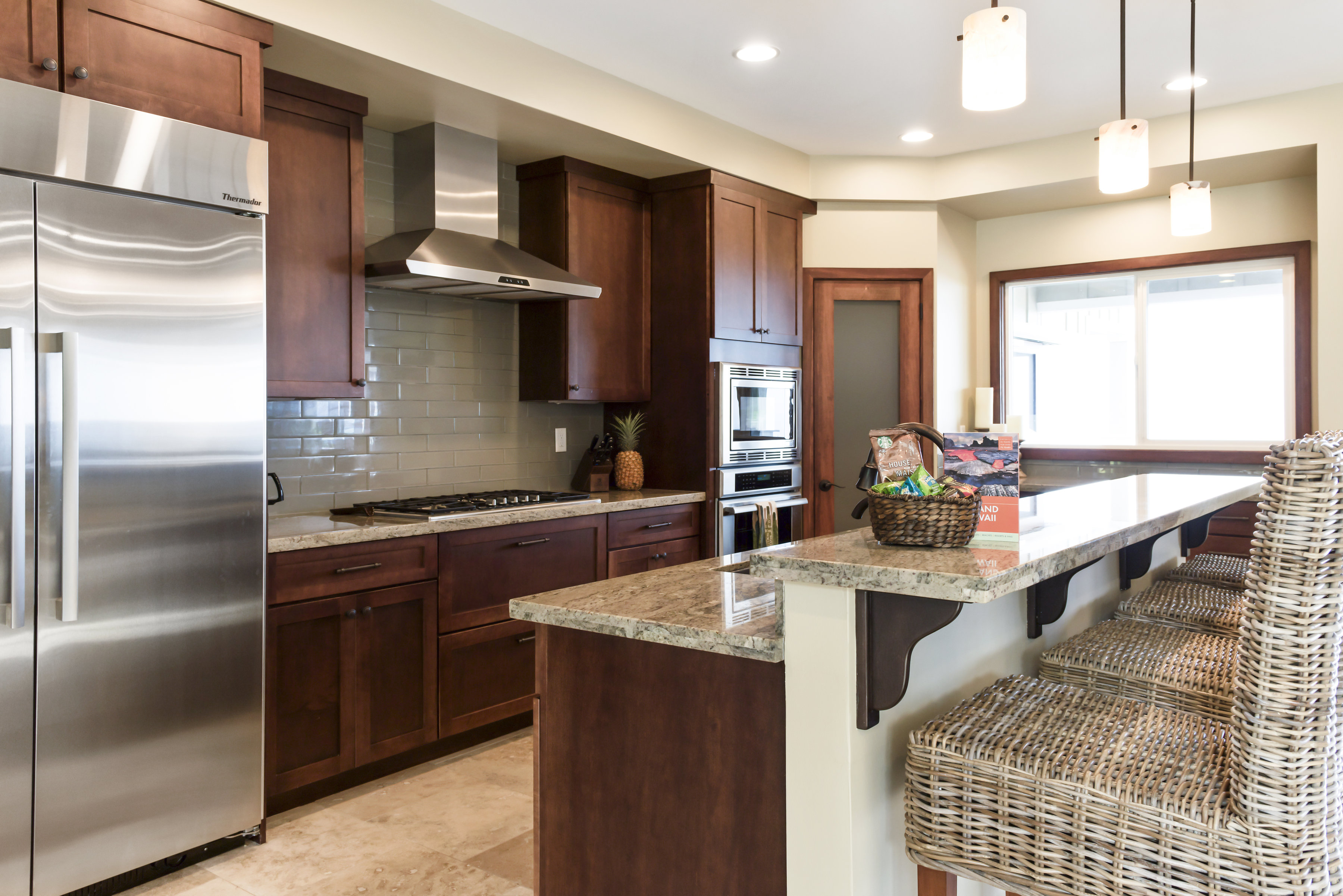 Chefs kitchen with Thermidor appliances