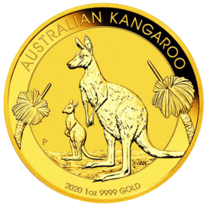 Gold Kangaroo Coin