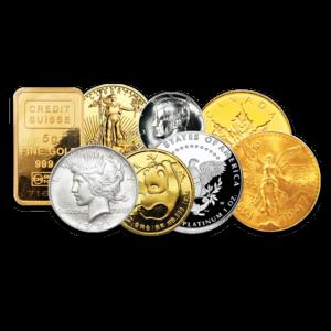 Coins bullion