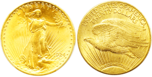 $20 Saint-Gaudens Double Eagle