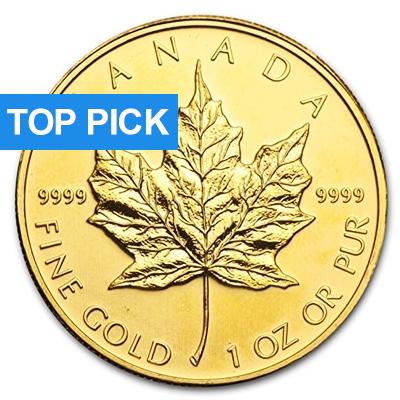 1 oz Gold Maple Leaf
