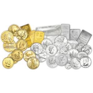 Gold Silver Platinum Coins