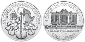 1 oz Austrian Silver Philharmonic Coin