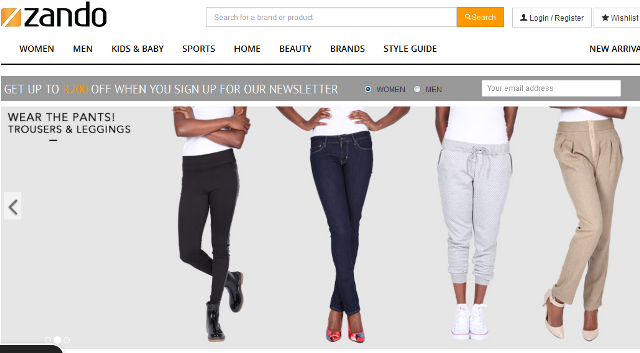 Top 5 Online Fashion Stores in South Africa - Youth Village