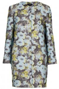 floral spring coat