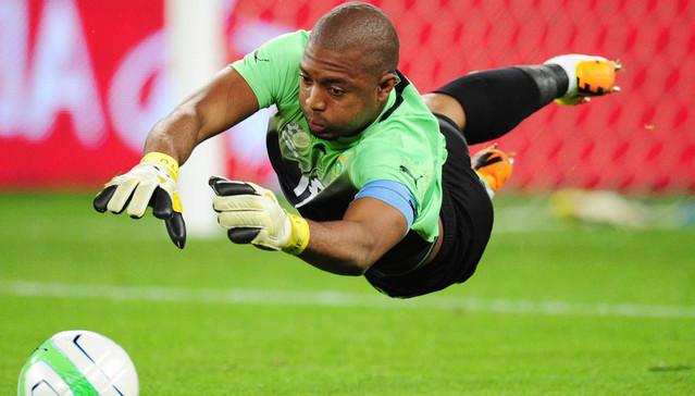 Football - 2013 Nelson Mandela Challenge - South Africa v Nigeria - Moses Mahida Stadium - Durban