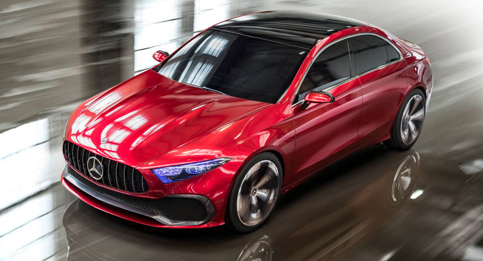 Photo of Must See Photos Of Mercedes-Benz Concept A Sedan!