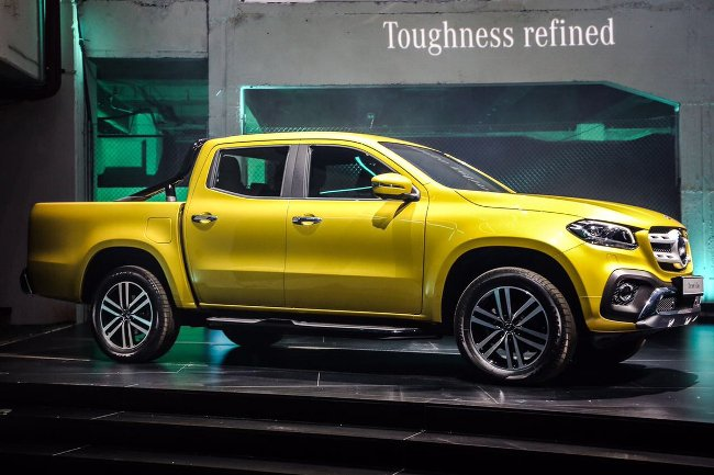 Photo of Pics: The New Mercedes-Benz X-Class Touches Local Soil