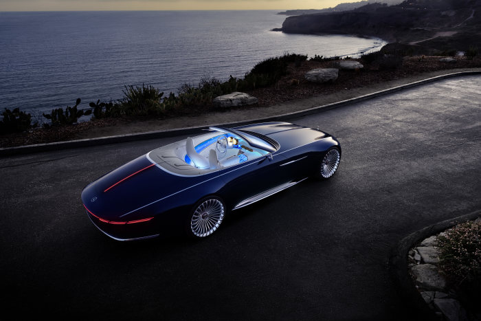 Photo of The Mercedes-Maybach 6 Cabriolet Is Out Of This World