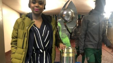 Photo of Watch: Mpho Letsholonyane Shows Off Her Soccer Skills