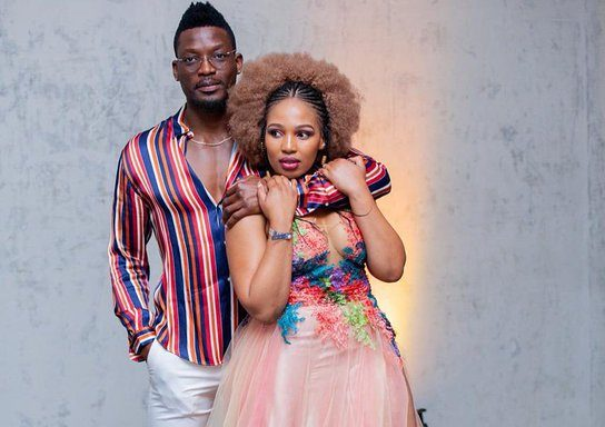 Phindile Gwala and Husband Share The Warmest Message With