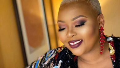 Photo of Pic! Anele Mdoda Gives Her Father The Coolest Gift For His 65th Birthday