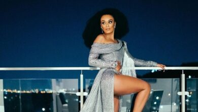 Photo of 10 Times Pearl Thusi Turned Heads With A Thigh High Slit