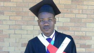Photo of Clement Maosa Credits His Grandmother For His Bachelor of Law Qualification