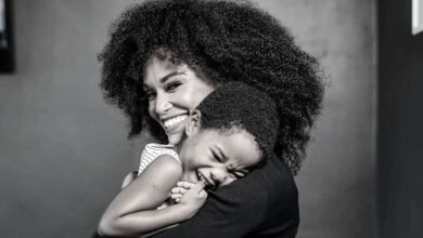Photo of Pearl Thusi Expresses The Love She Has For Her Youngest Daughter With A Sweet Poem