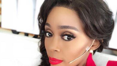 Photo of Pics! Thembi Seete Shows Off Her Beautiful Pixie Haircut