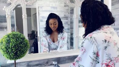 Photo of Pics: DJ Zinhle Shows The Exquisite Interior of Some Rooms In Her House