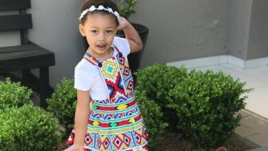 Photo of Pics! SA Celeb Kids Step Out In Style Ahead of Heritage Day